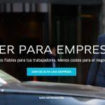 uber para empresas