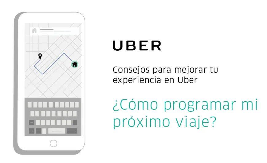 programar viajes con uber